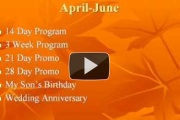 How To Create A 12 Month Promotional Calendar