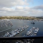 View from my suite in San Diego