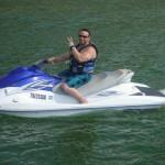 Having fun on Lake Travis