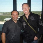 Jeff Anderson and I in Austin