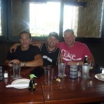 """Hanging with Justin """"fast money"""" Blum and Rocco """"boss"""" Castellano"""